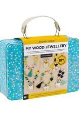 Chronicle Books Animal Glam - Wood Jewelry DIY