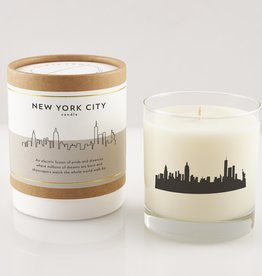 Scripted Fragrance Candle - Soy Glass NYC