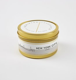 Scripted Fragrance Candle - Soy Tin NYC