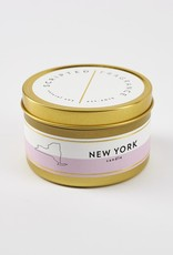 Scripted Fragrance Candle - Soy Tin NY State