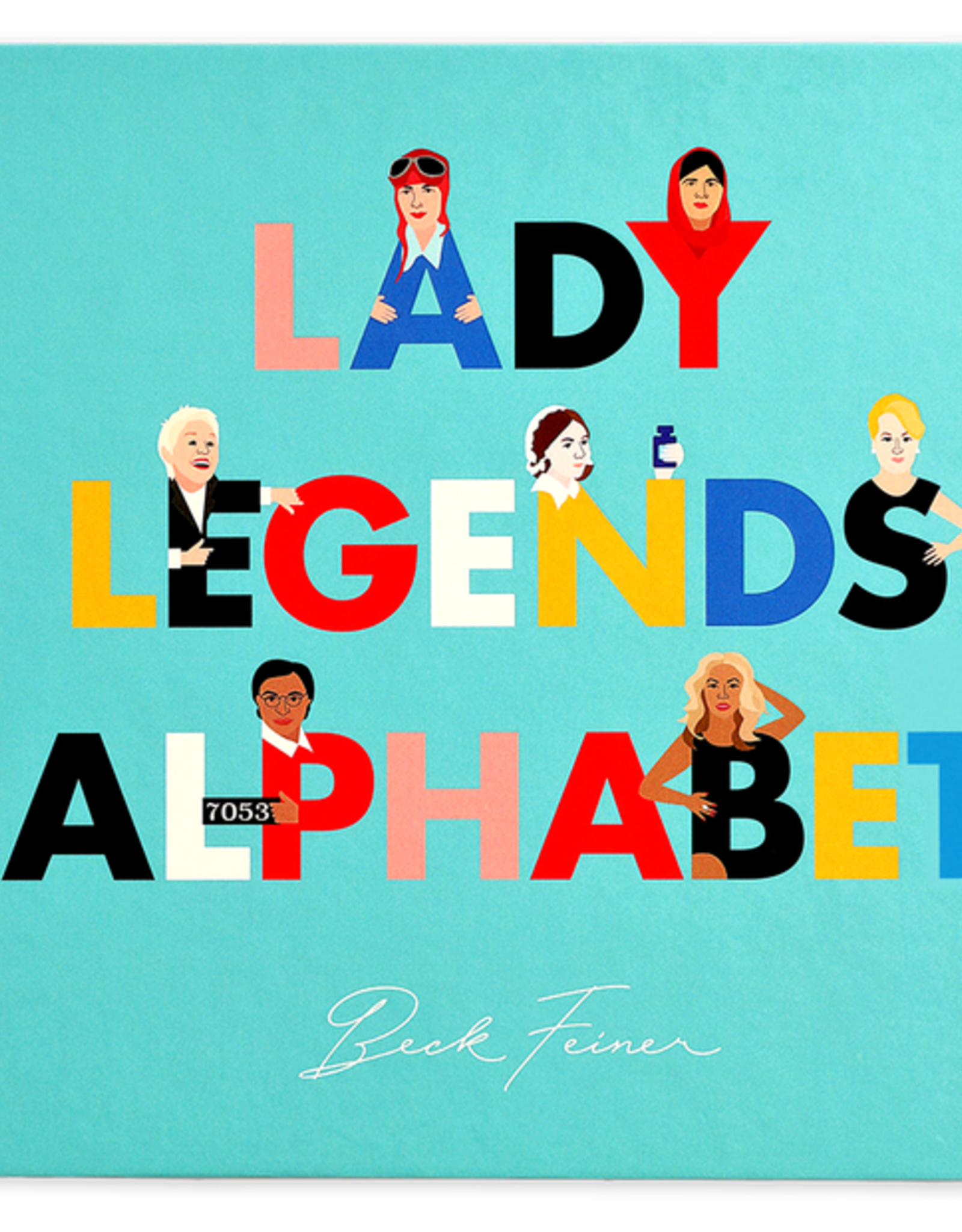 Alphabet Legends Alphabet Book - Lady Legends