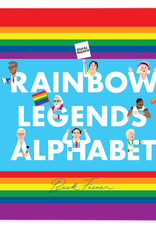 Alphabet Legends Alphabet Book - Rainbow Legends