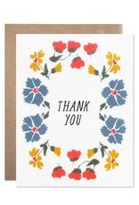 Hartland Brooklyn Boxed Cards - Thank you Cornflower (8)