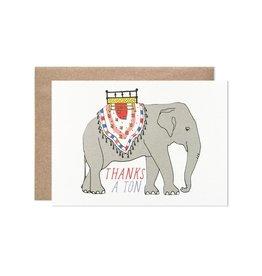 Hartland Brooklyn Boxed Cards - Thank you a ton (8)
