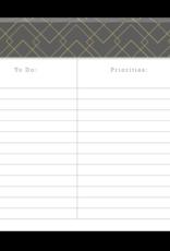 Punch Studio To Do List & Priorities Note Pad
