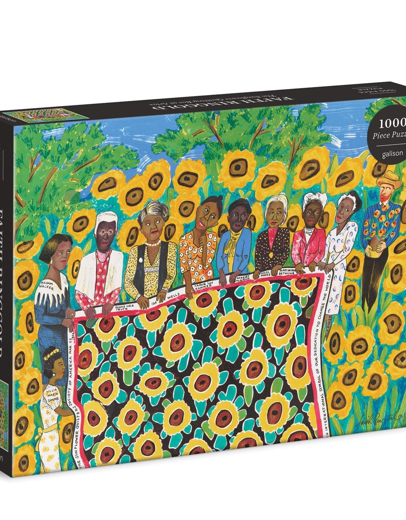 Chronicle Books Puzzle - The Sunflower Quilting Bee at Arles