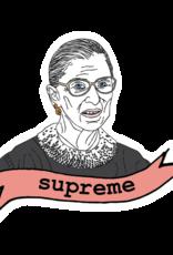 The Card Bureau Sticker - RBG Supreme