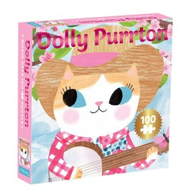 Chronicle Books Puzzle - 100 Piece Dolly Purrton
