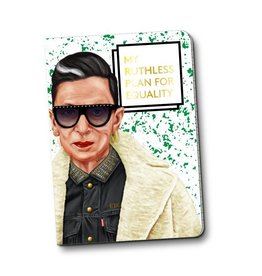 Hipstory Hipstory Notebook - RBG: My Ruthless Plan For Equality