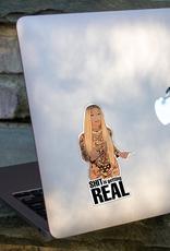 The Card Bureau Sticker - Cardi: Shit Is Getting Real