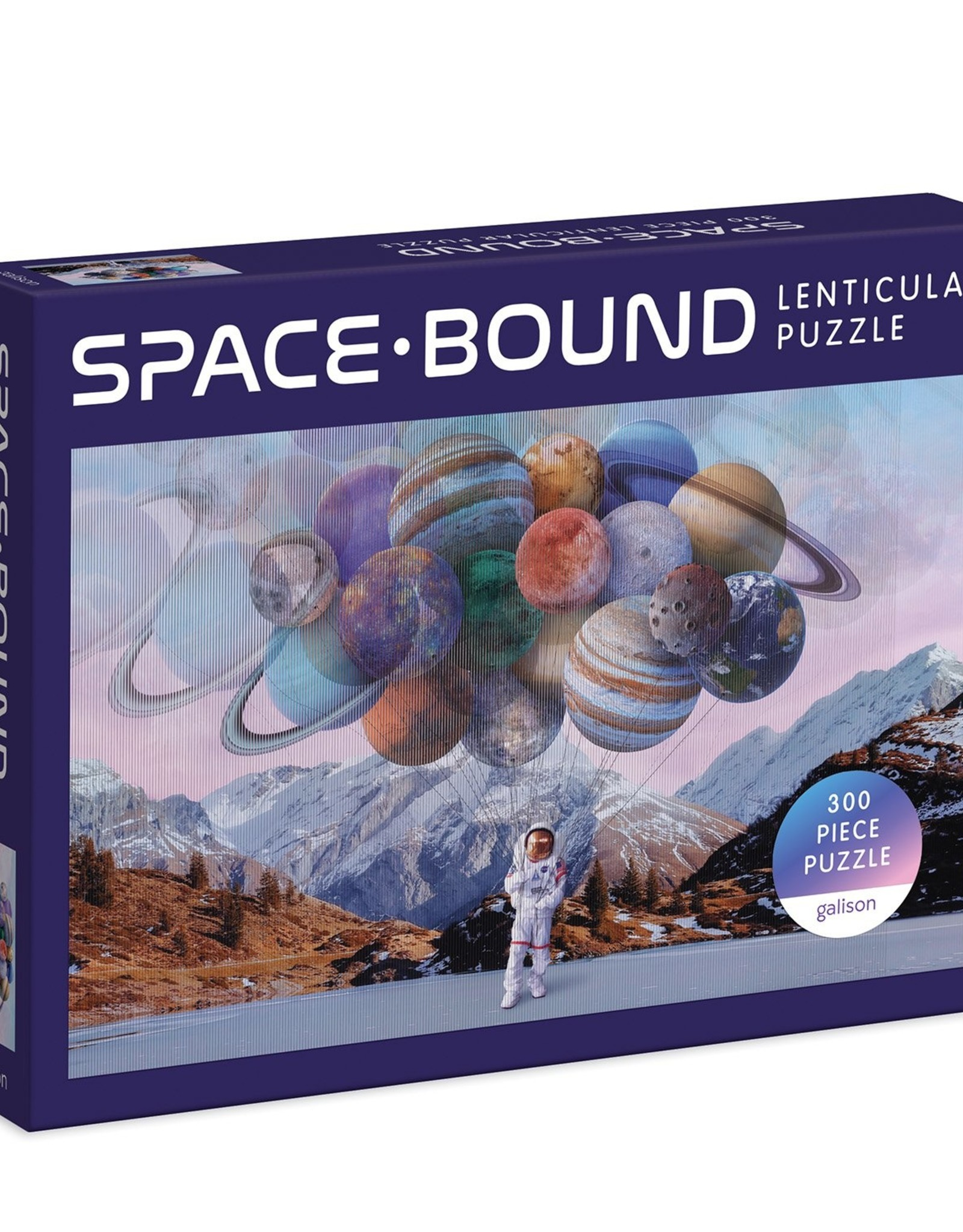 Chronicle Books Lenticular Puzzle - 300 Piece Space Bound