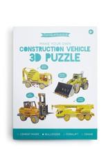 Two's Comapany Puzzle 3D Construction