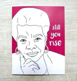 Fem Cards Card - Blank: Maya Angelou