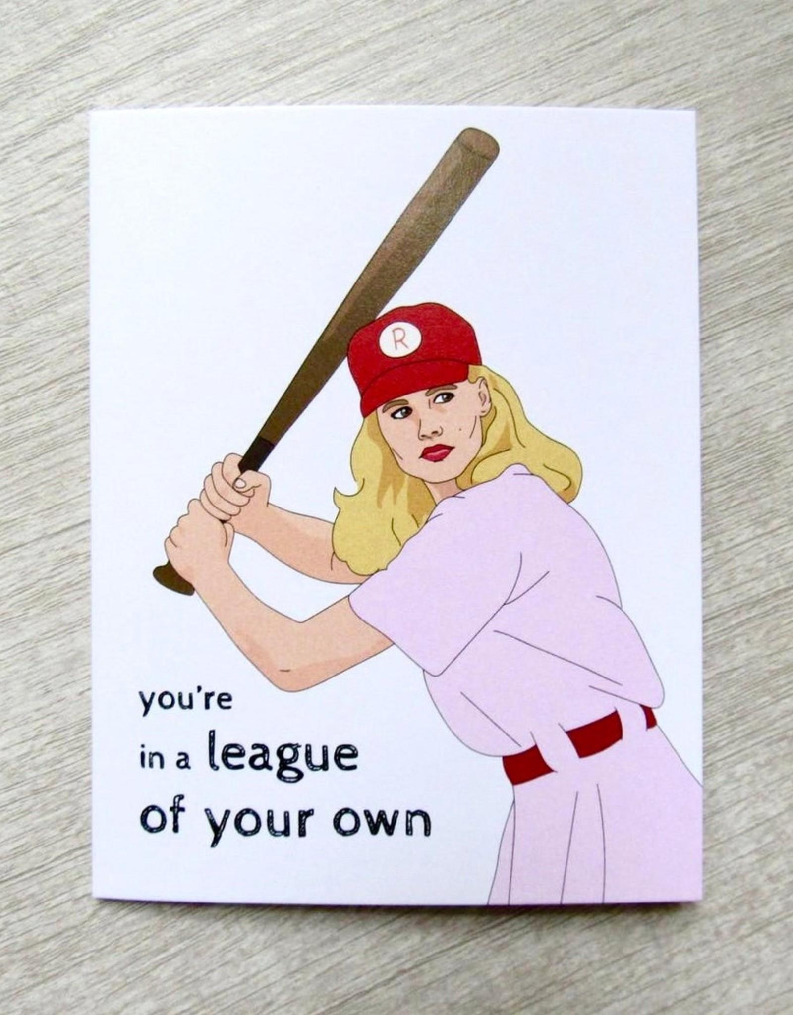 Fem Cards Card - Blank: League of Their Own