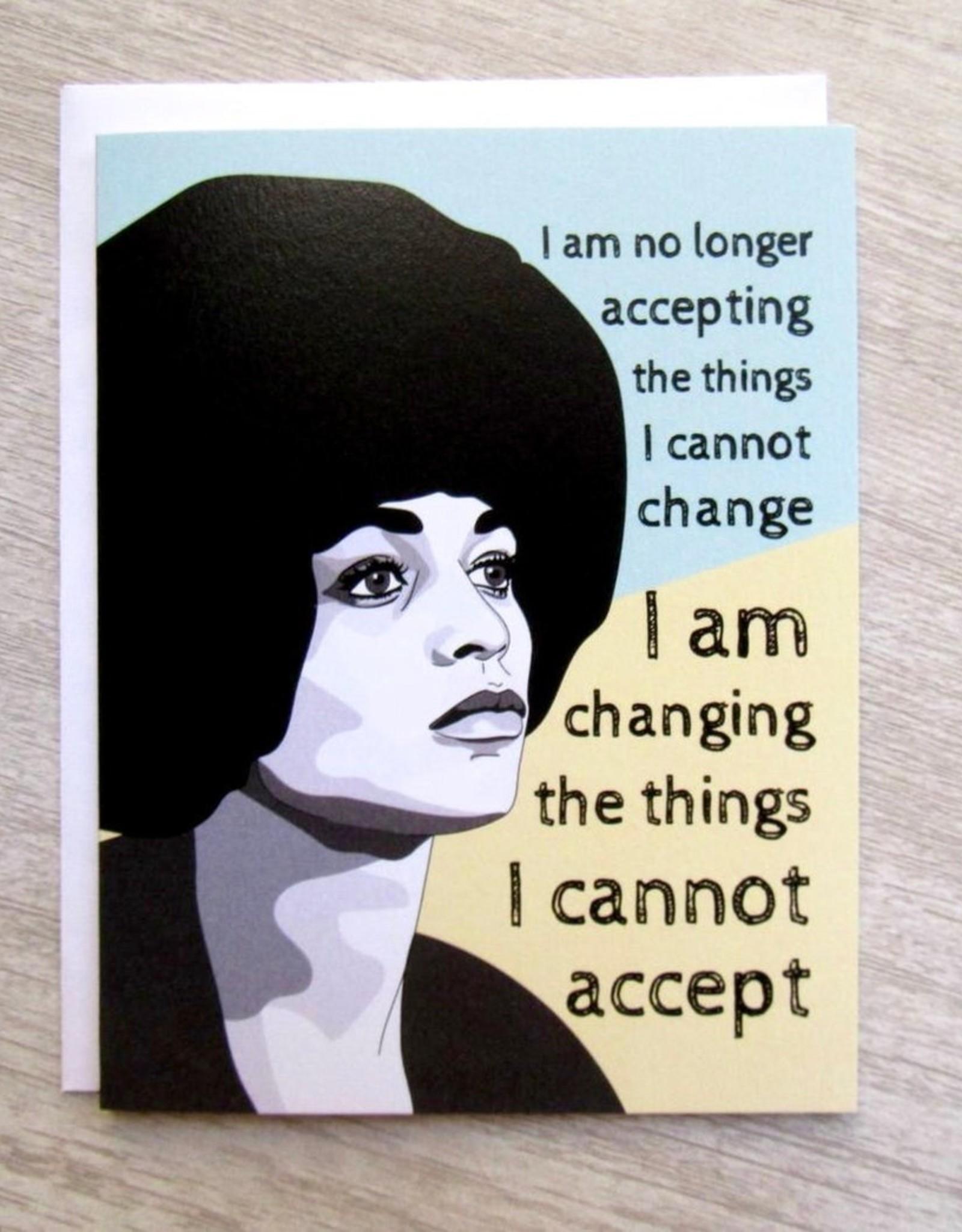 Fem Cards Card - Blank: Angela Davis