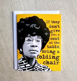 Fem Cards Card - Blank: Shirley Chisholm