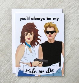 Fem Cards Card - Blank: Thelma and Louise