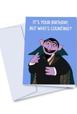 kaleidodope Card - Birthday: Who's Counting