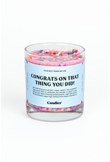 Candle: Congrats On That Thing You Did!