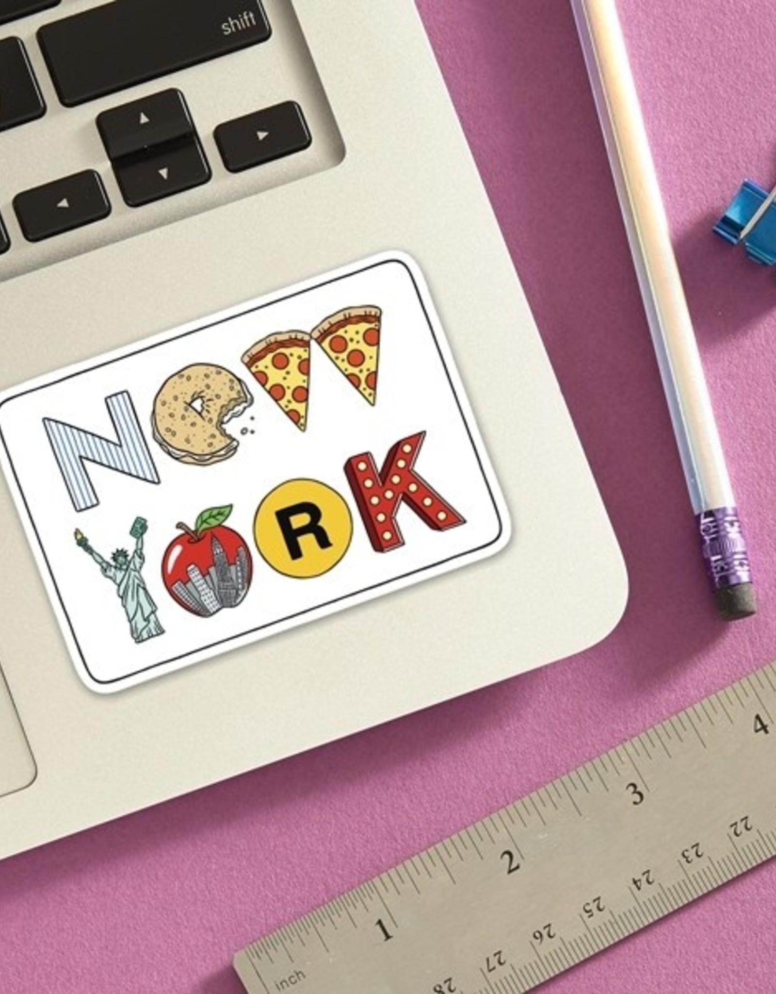 The Found Sticker - New York Icons