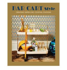 Simon & Schuster Bar Cart Style