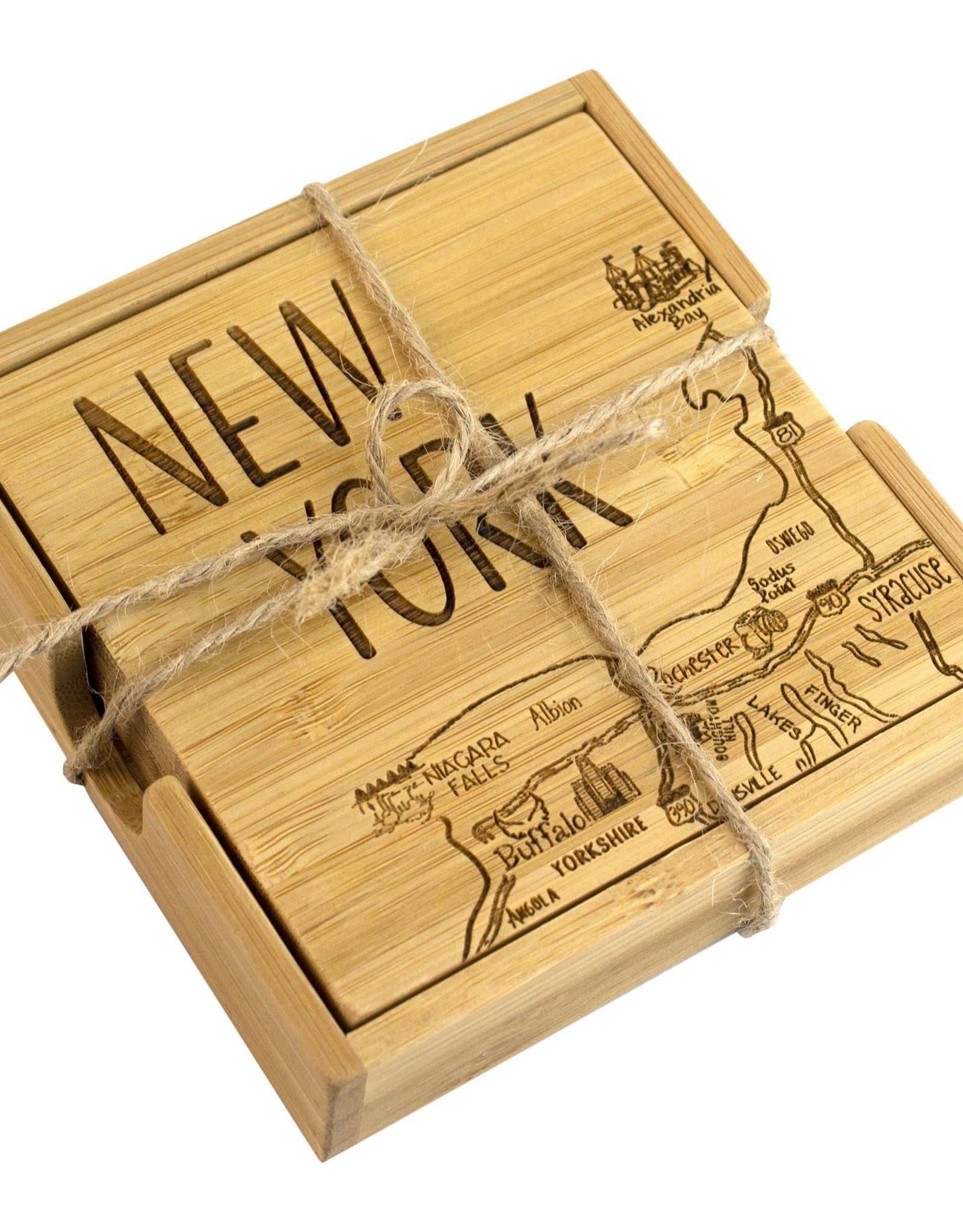 Totally Bamboo Coasters - New York Bamboo