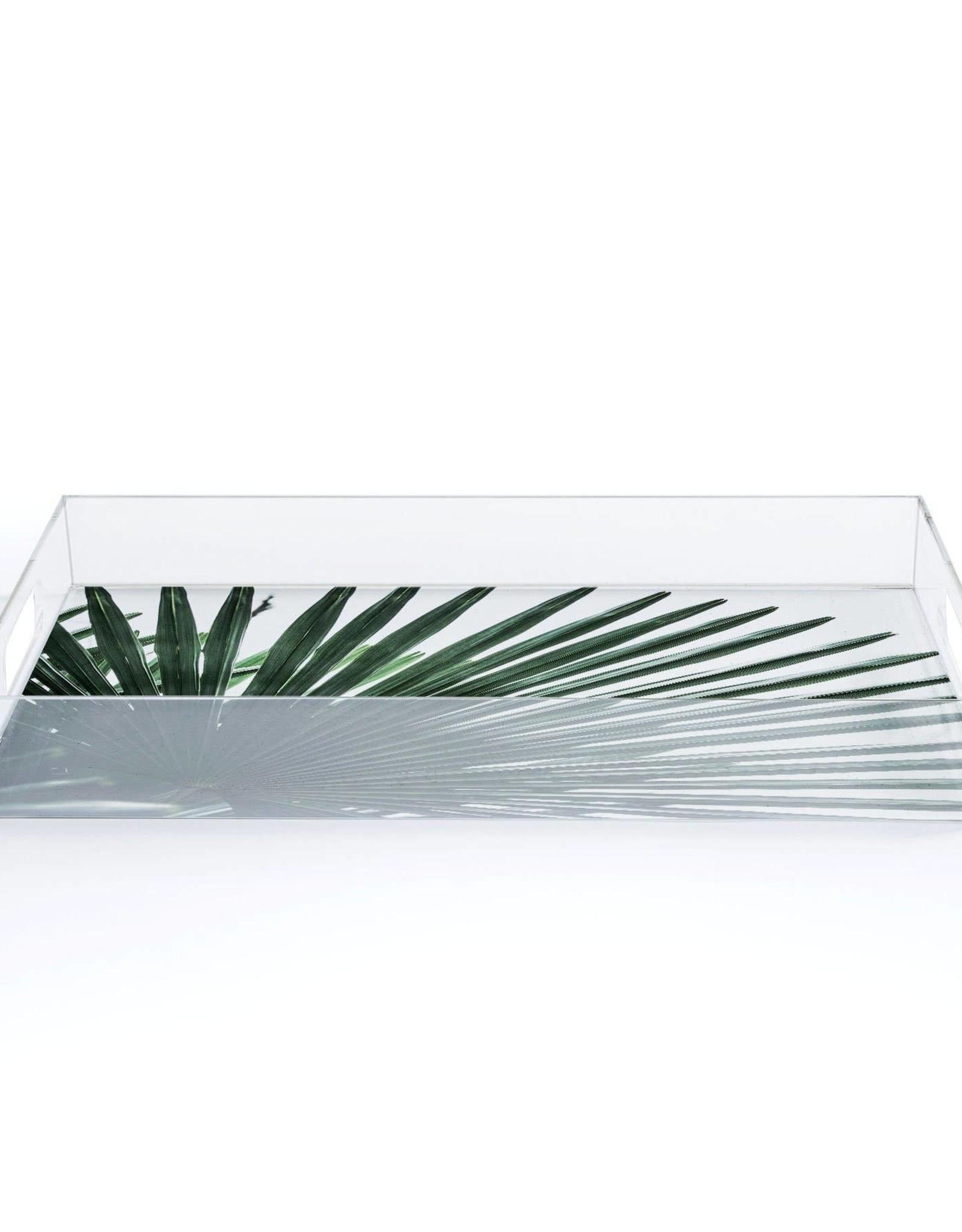 Deny Designs Tray - Small Acrylic: Leaves