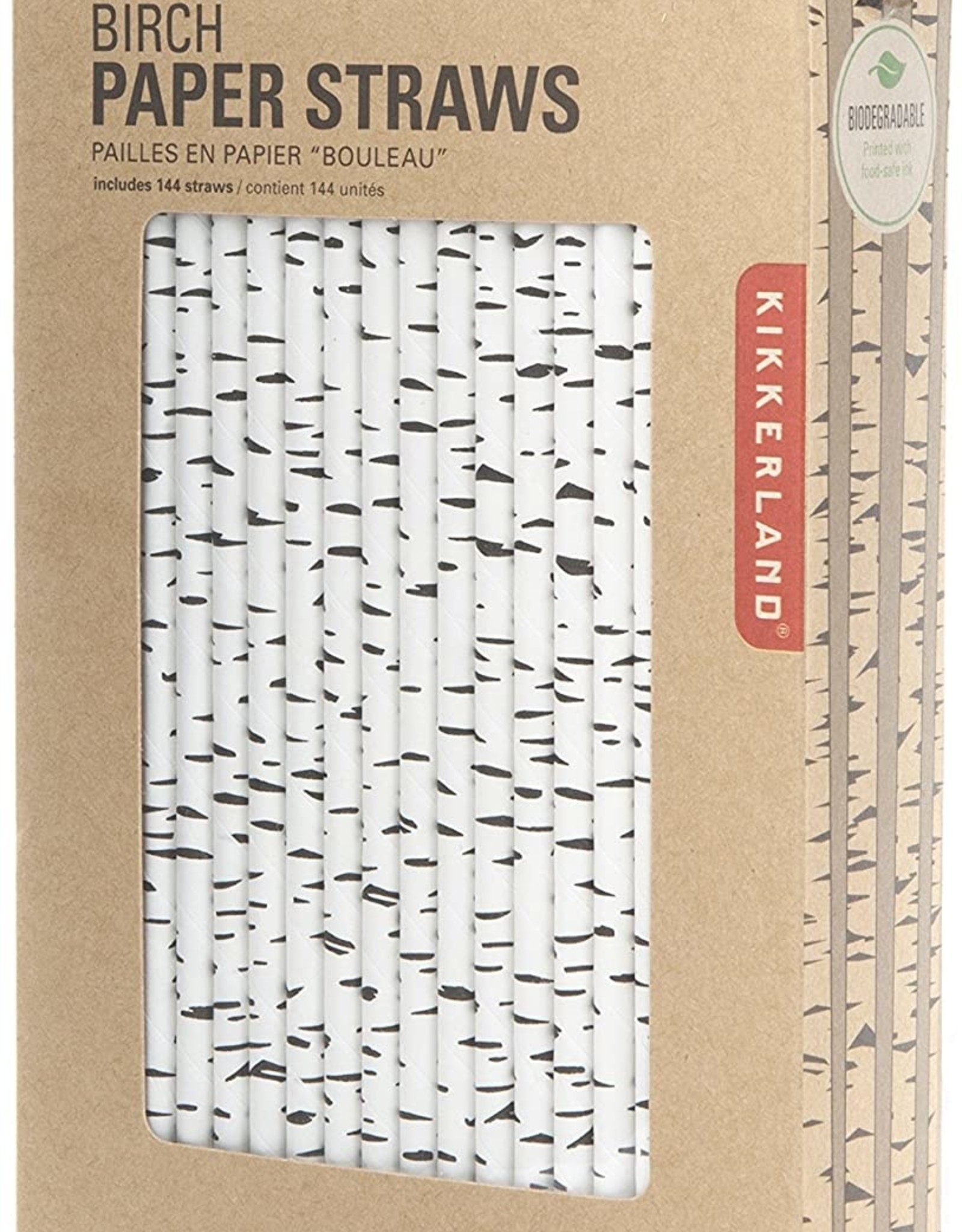 Kikkerland Straws - Birch Paper