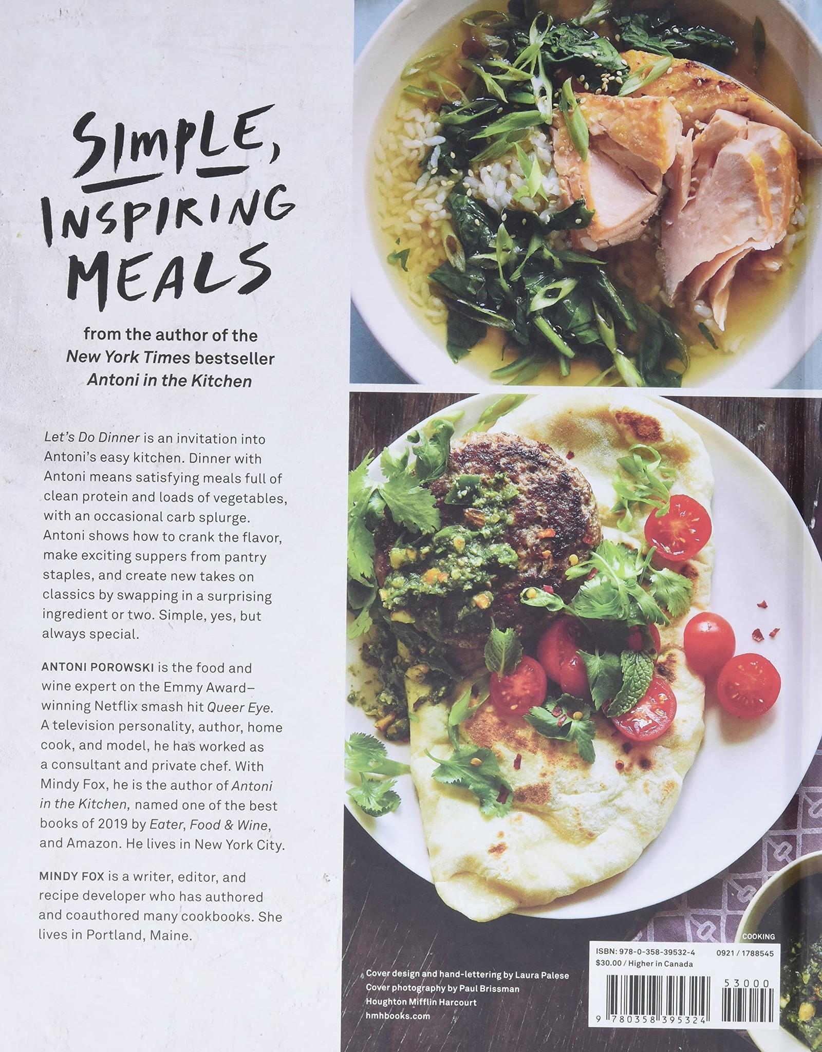 Houghton Mifflin Harcourt Antoni - Let's Do Dinner