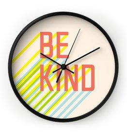 Deny Designs Be Kind Clock