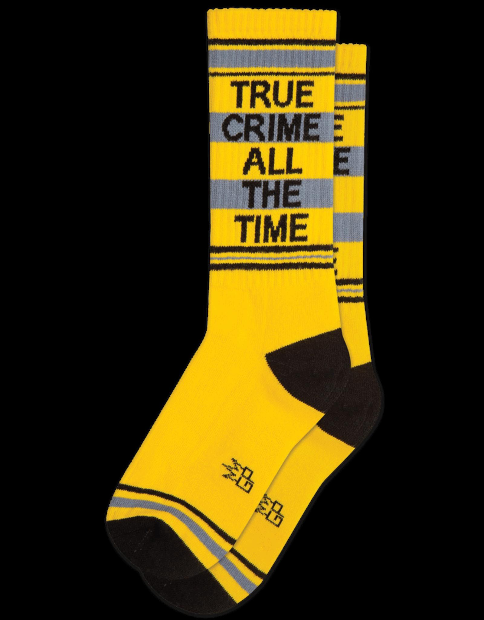 Gumball Poodle Athletic Socks: True Crime