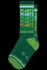 Gumball Poodle Athletic Socks:  Plants Plants Plants