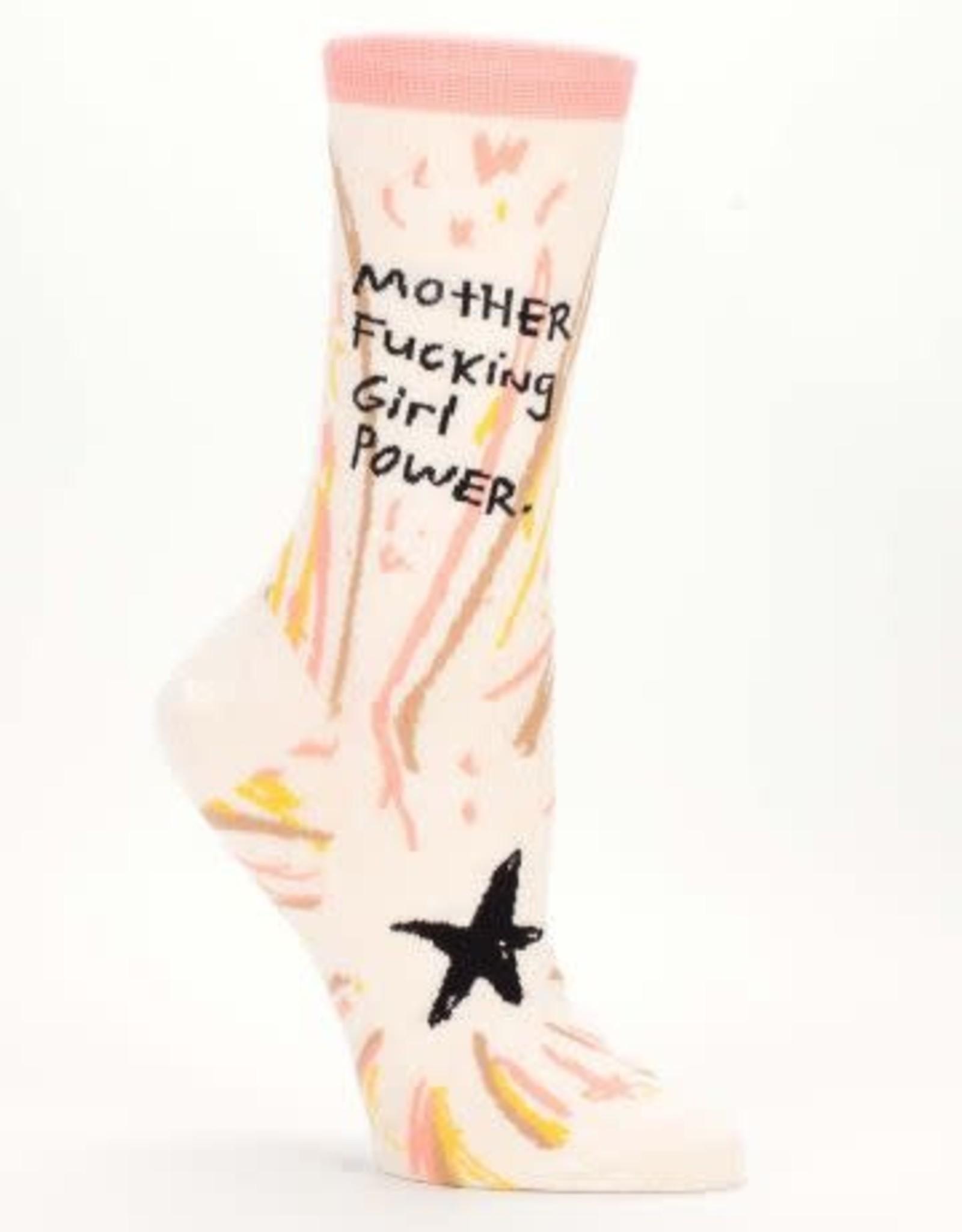 Blue Q Women's Socks - Mother Fucking Girl Power
