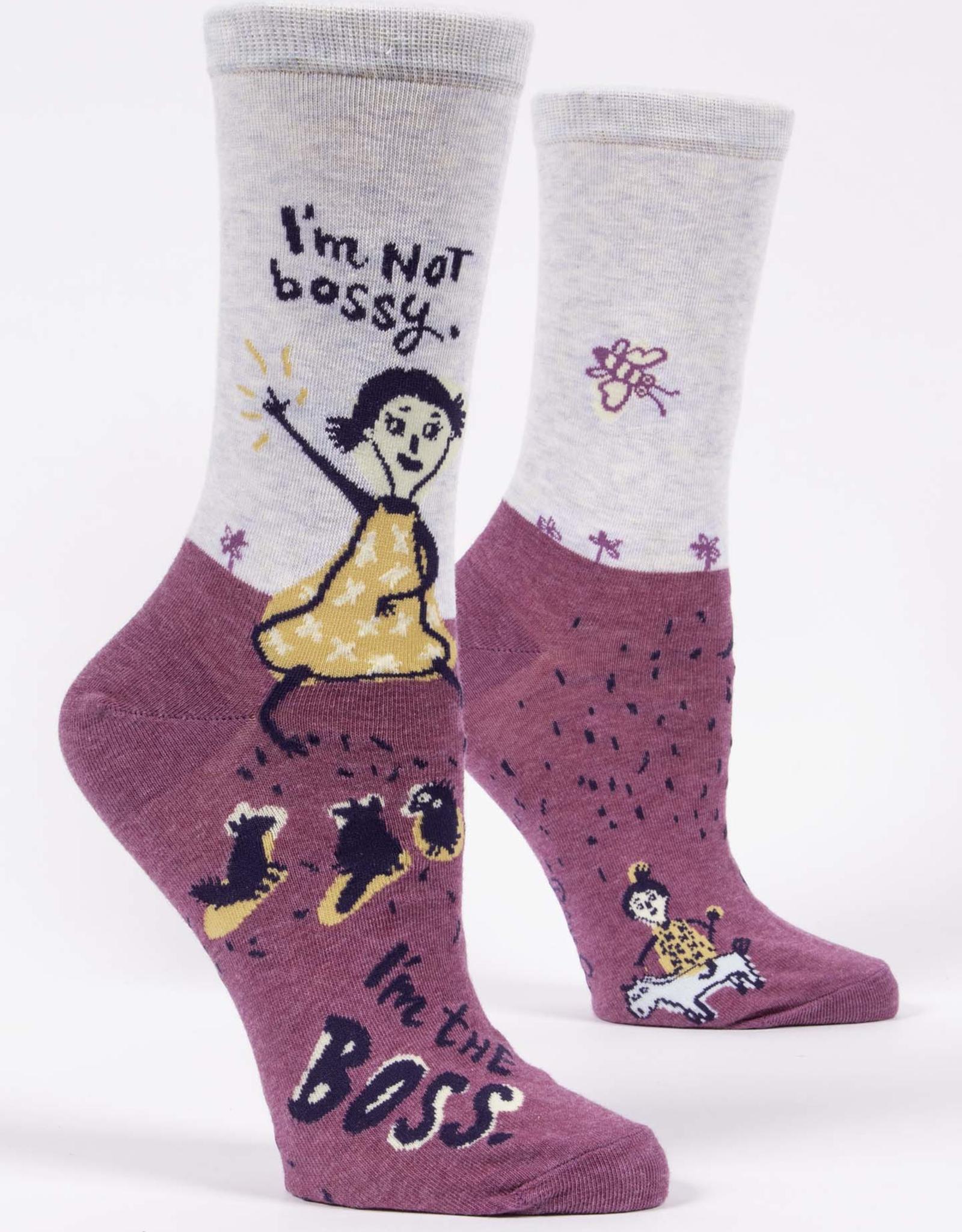 Blue Q Women's Socks - I'm Not Bossy, I'm The Boss