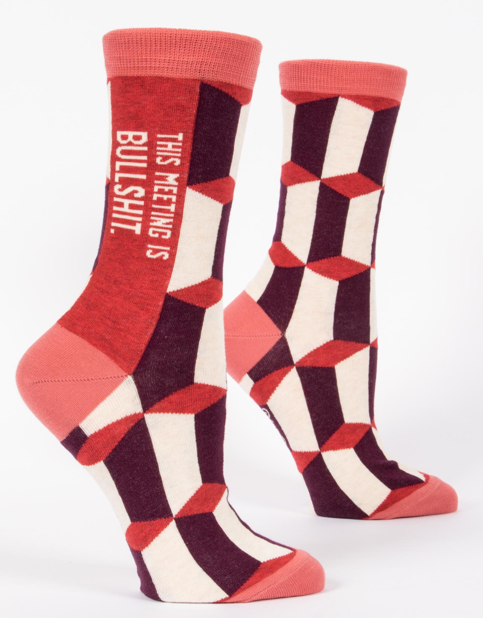 Blue Q Women's Socks - This Meeting Is Bullshit