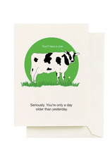 Seltzer Goods Card - Birthday: Don't Have A Cow