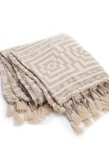 Peking Handcraft Throw Blanket - Hypnotic by Makers Collective