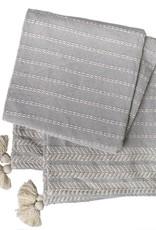 Peking Handcraft Throw Blanket - Gideon Fog