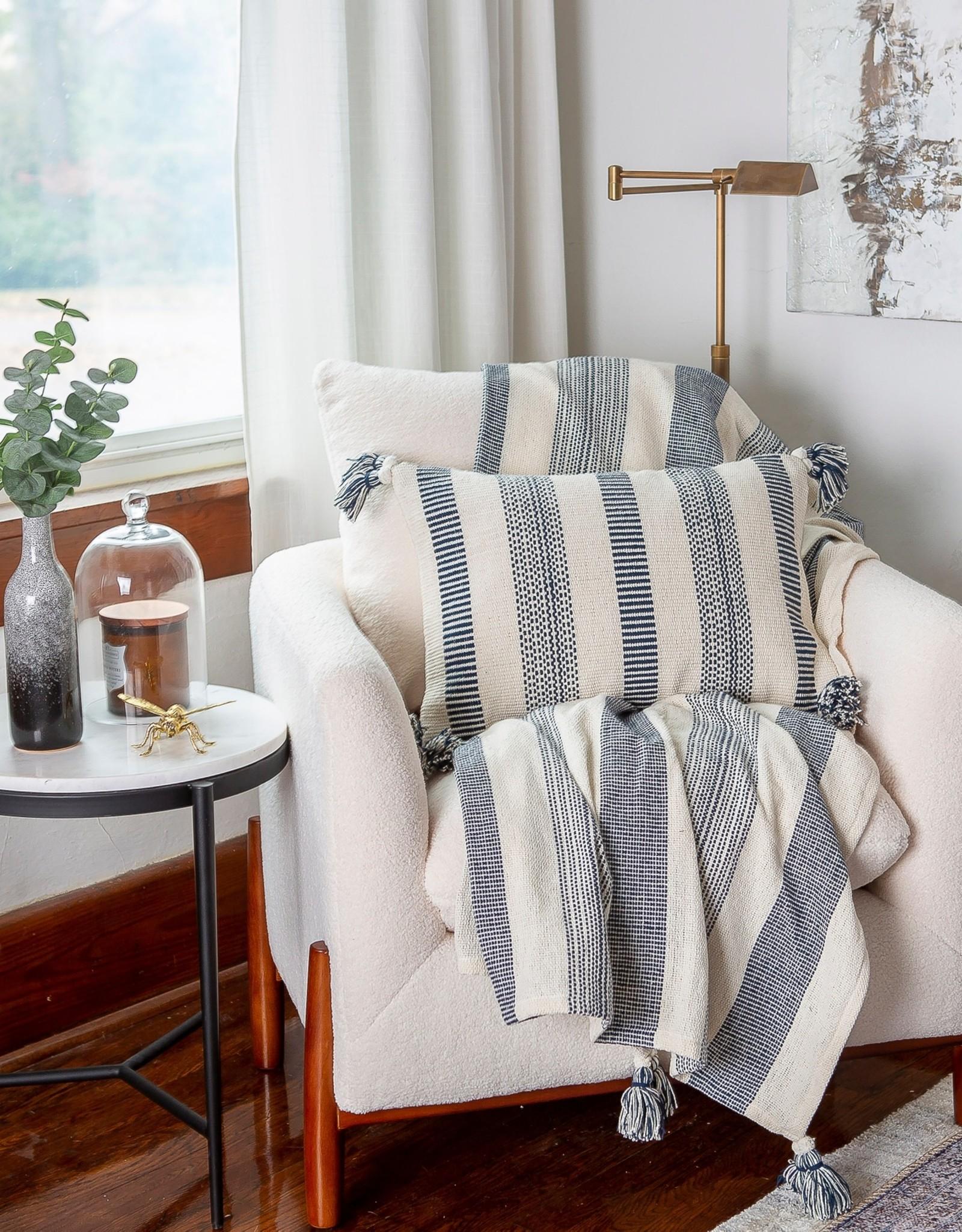 Peking Handcraft Throw Blanket - Barett Ink