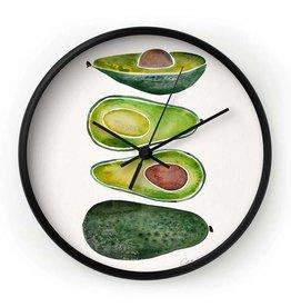 Deny Designs Avocado Clock