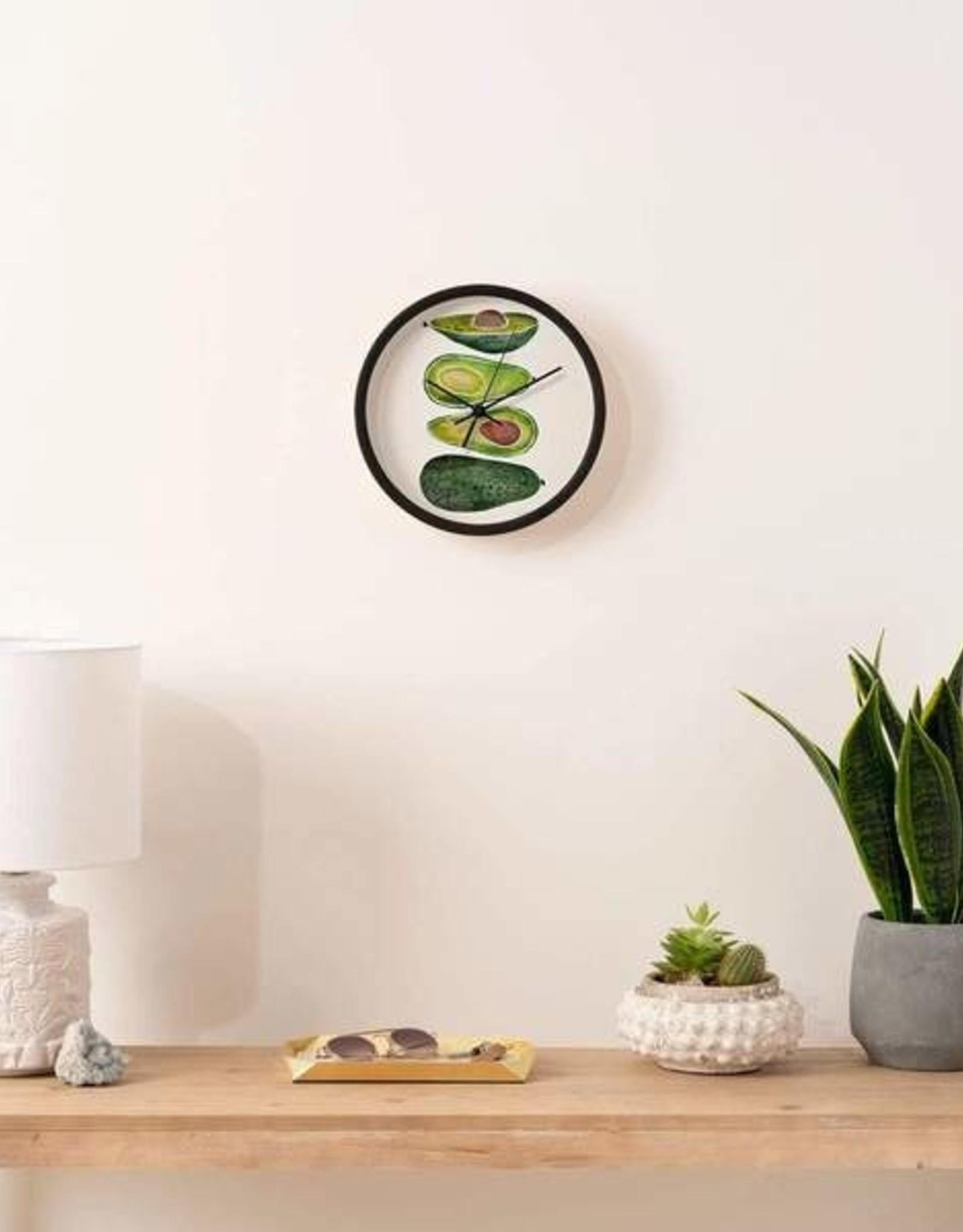Deny Designs Clock - Avocado