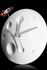 Suck UK Clock - Rocket Moon