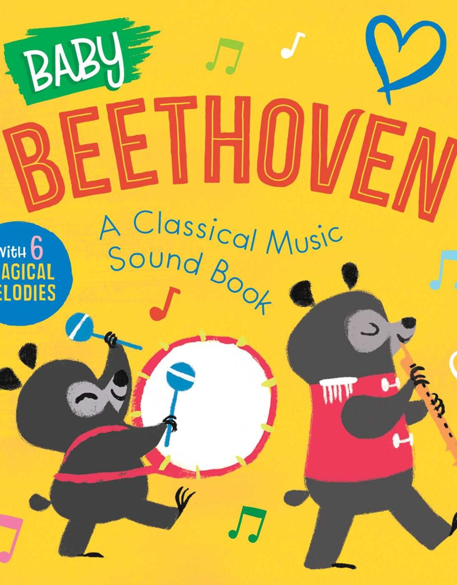 Simon & Schuster Baby Beethoven: A Classical Music Sound Book