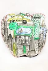 Kahri by KahriAnne Kerr Pillow: Big Apple