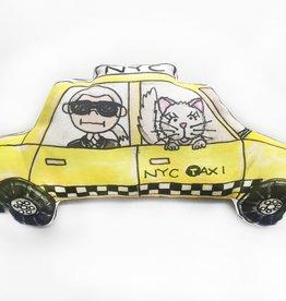 Kahri by KahriAnne Kerr Pillow: NYC Taxi