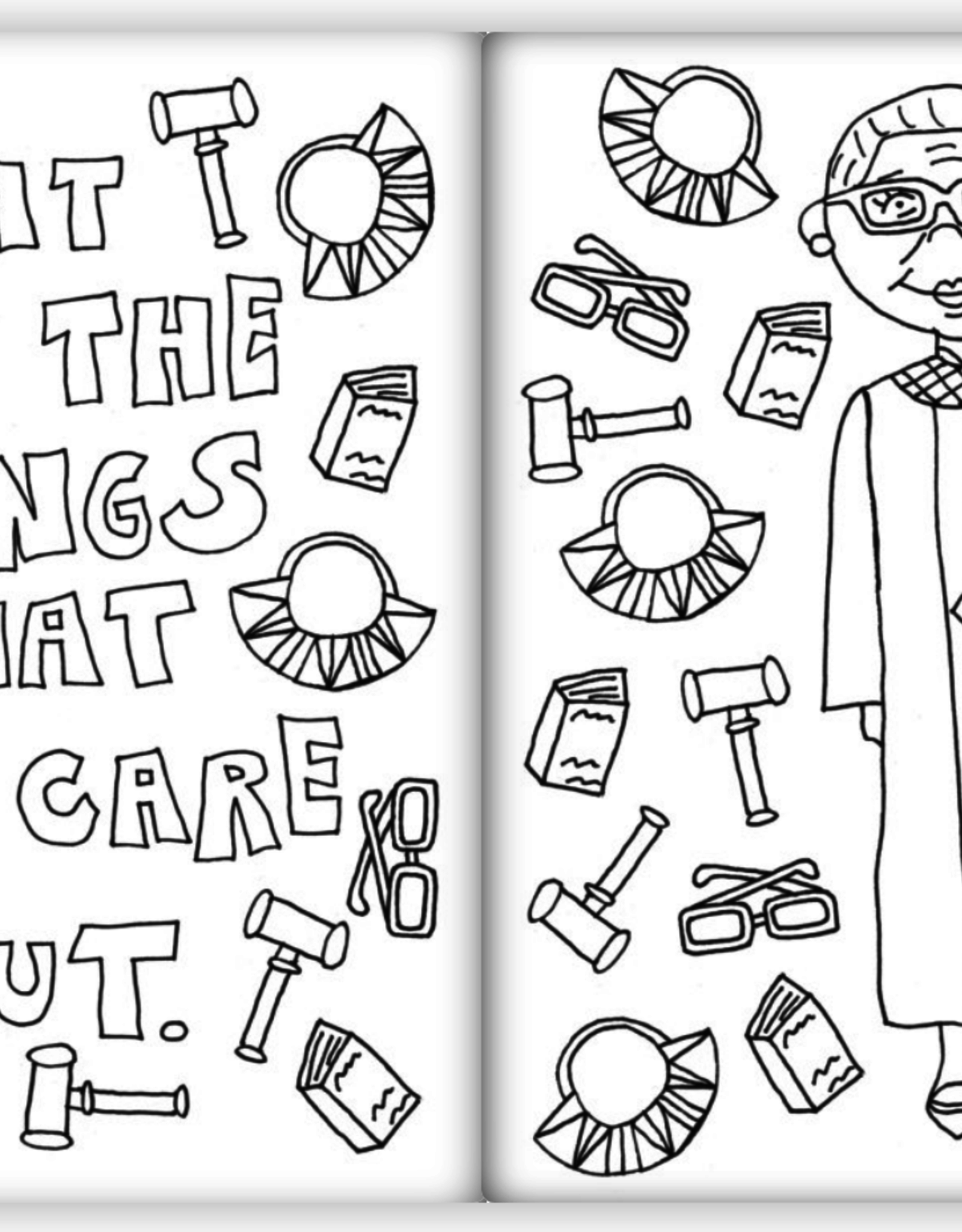 Kahri by KahriAnne Kerr Feminist Coloring Book