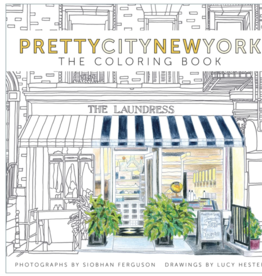 IPG Pretty City New York - Coloring Book