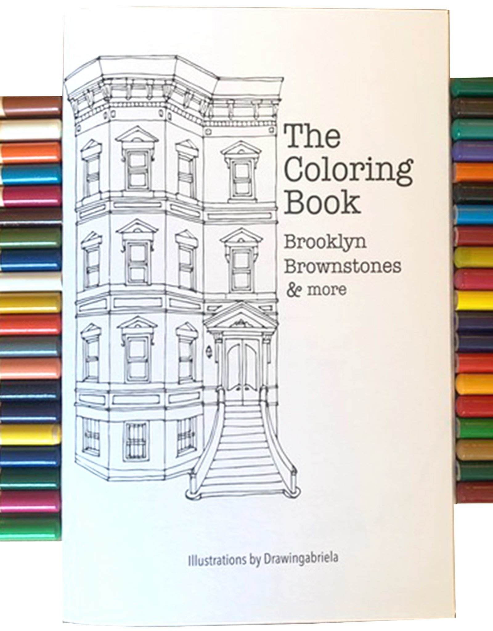 Brooklyn Brownstone Coloring Book