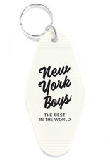 Three Potato Four Hotel Key Tag - New York Boys