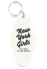 Three Potato Four Hotel Key Tag - New York Girls
